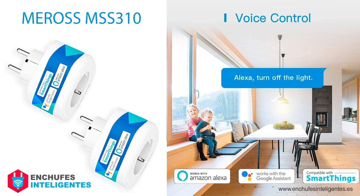 Enchufe Inteligente Meross MSS310
